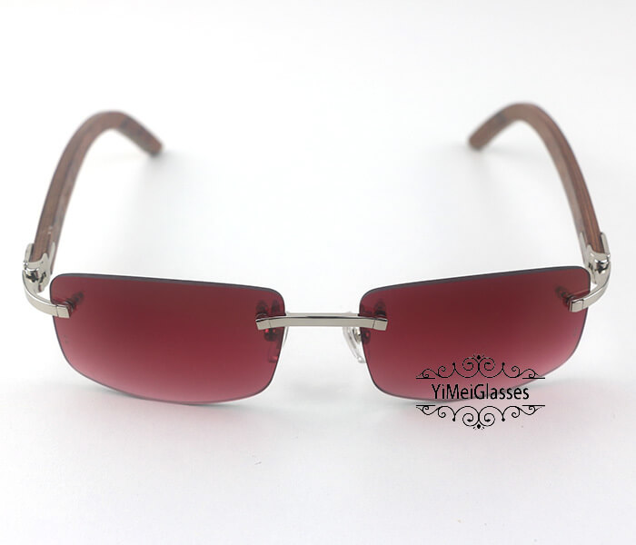 Cartier Wooden Classic Rimless Sunglasses CT3524012插图31