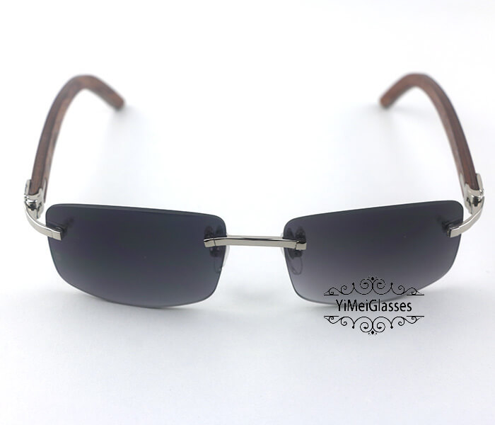 Cartier Wooden Classic Rimless Sunglasses CT3524012插图33