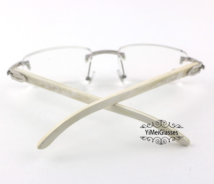 Cartier Horn Classic Rimless Optical Glasses CT3524012插图9