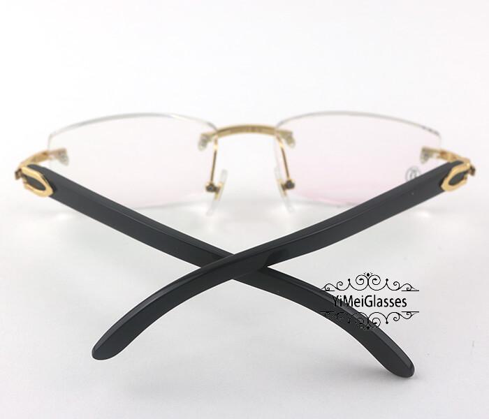 Cartier Horn Classic Rimless Optical Glasses CT3524012插图14