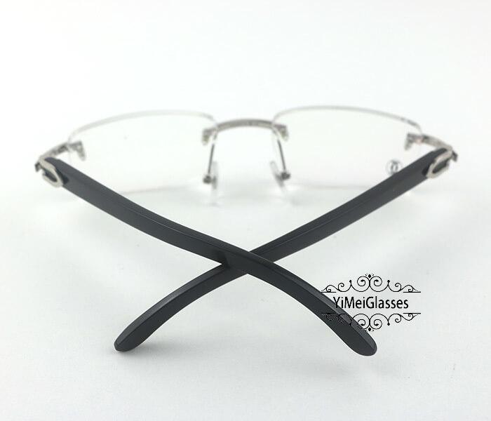 Cartier Horn Classic Rimless Optical Glasses CT3524012插图17