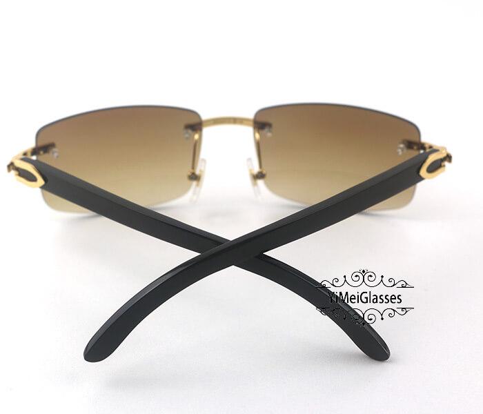 Cartier Buffalo Horn Classic Rimless Sunglasses CT3524012插图(18)