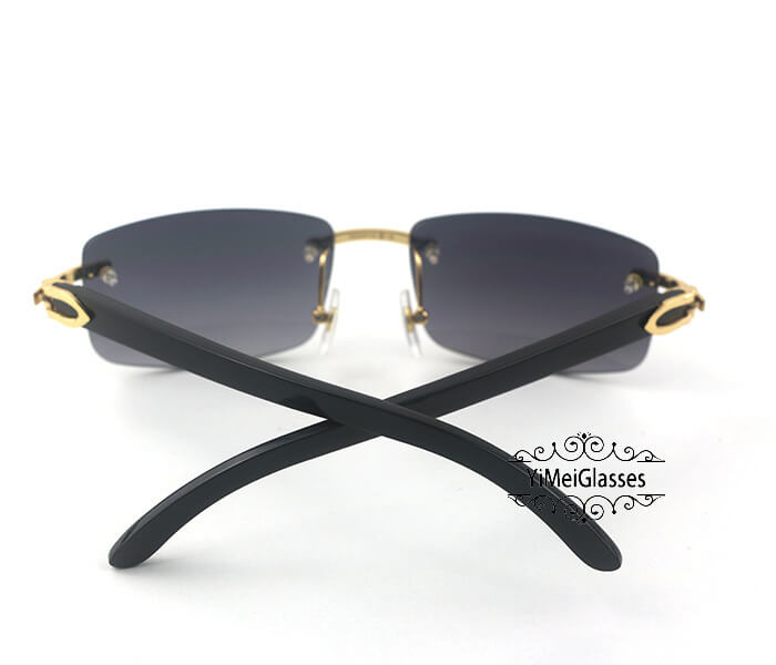 Cartier Buffalo Horn Classic Rimless Sunglasses CT3524012插图(21)