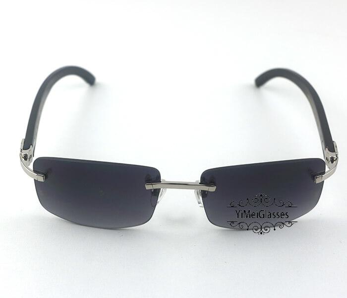 Cartier Buffalo Horn Classic Rimless Sunglasses CT3524012插图(28)