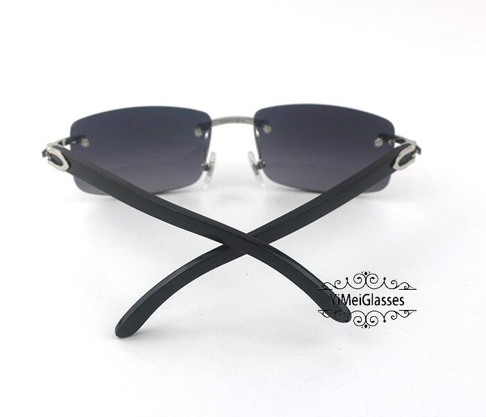 Cartier Buffalo Horn Classic Rimless Sunglasses CT3524012插图30