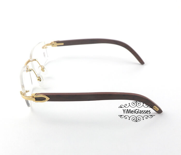 Cartier Wooden Classic Rimless Optical Glasses CT3524012插图2