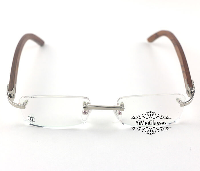 Cartier Wooden Classic Rimless Optical Glasses CT3524012插图7