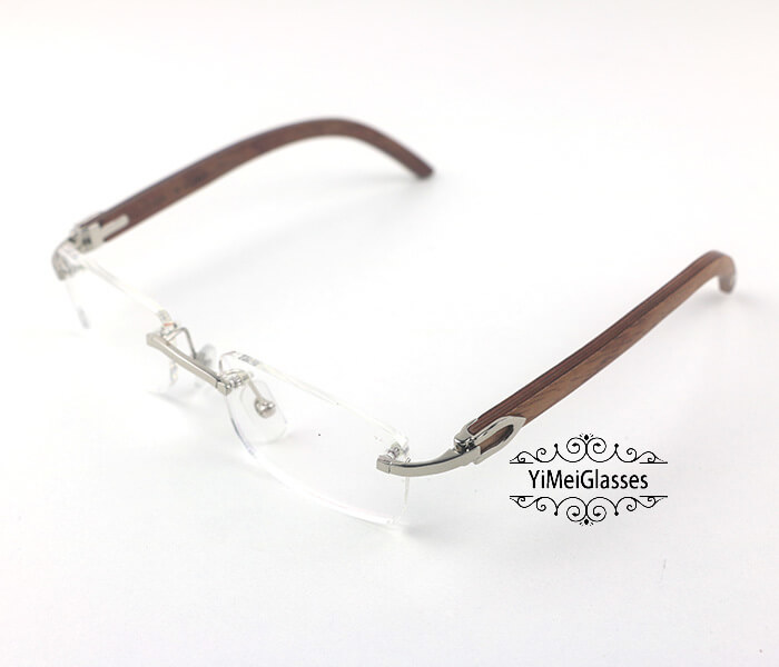 Cartier Wooden Classic Rimless Optical Glasses CT3524012插图8
