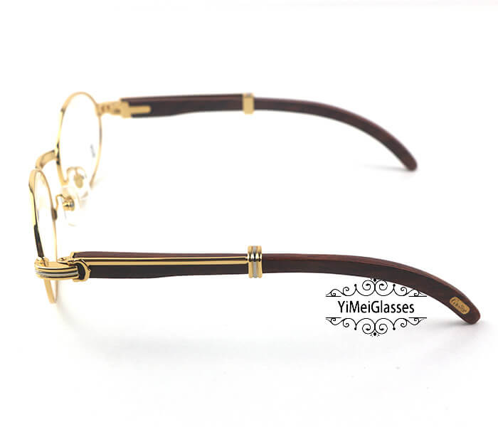 Cartier Wooden Full Frame Wooden Optical Glasses CT7550178-53插图(2)