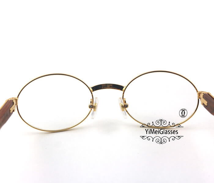 Cartier Wooden Full Frame Wooden Optical Glasses CT7550178-53插图(5)