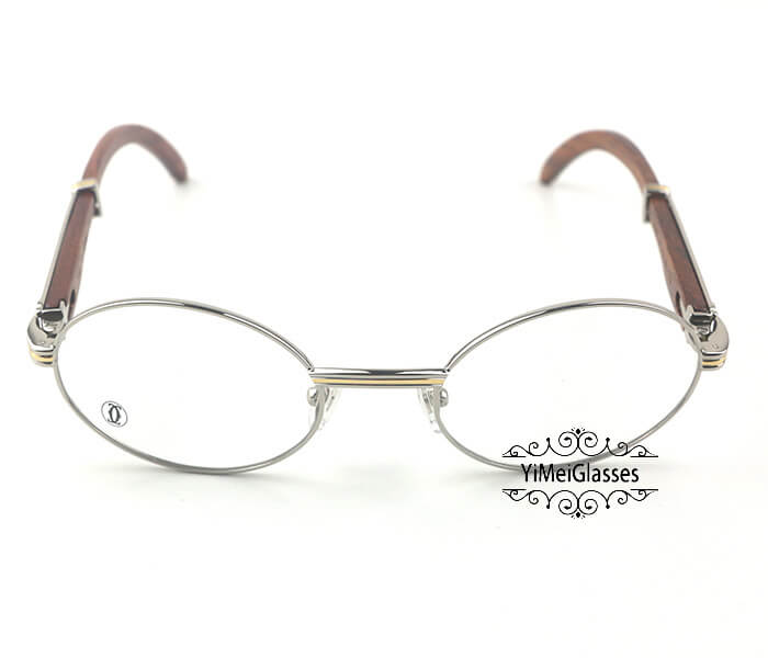 Cartier Wooden Full Frame Wooden Optical Glasses CT7550178-53插图(6)