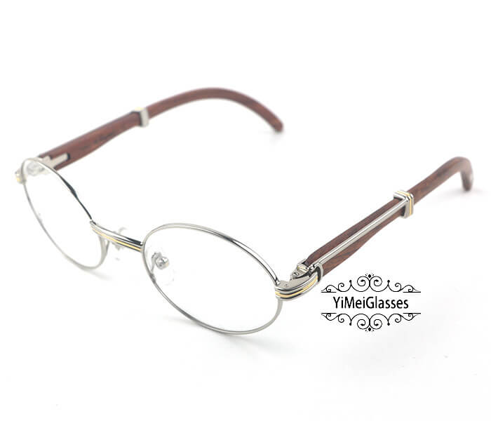 Cartier Wooden Full Frame Wooden Optical Glasses CT7550178-53插图(7)