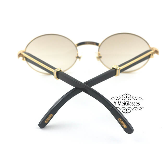 Cartier Buffalo Horn Full Frame Classic Sunglasses CT7550178-53插图(9)