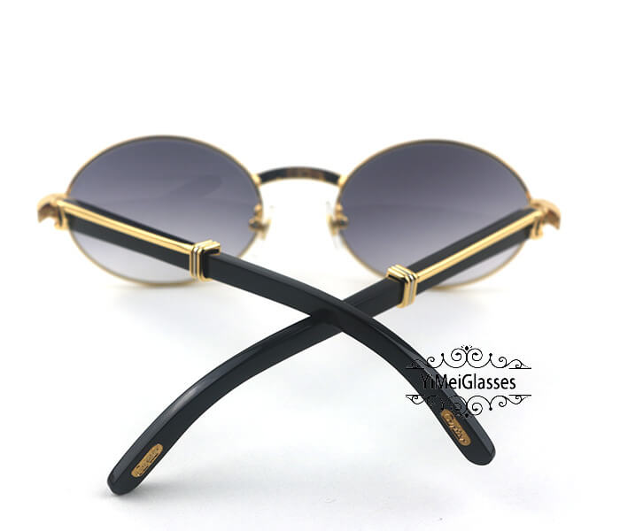 Cartier Buffalo Horn Full Frame Classic Sunglasses CT7550178-53插图(5)