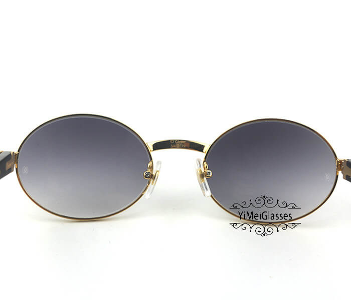 Cartier Buffalo Horn Full Frame Classic Sunglasses CT7550178-53插图(6)