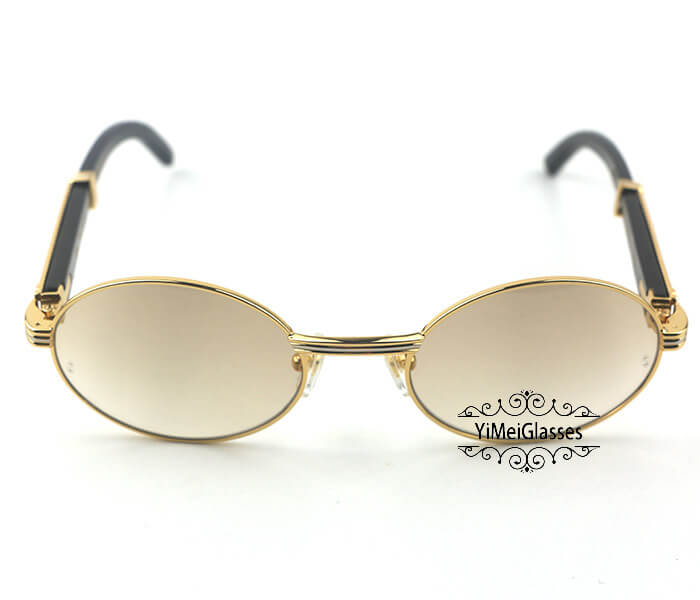 Cartier Buffalo Horn Full Frame Classic Sunglasses CT7550178-53插图(7)