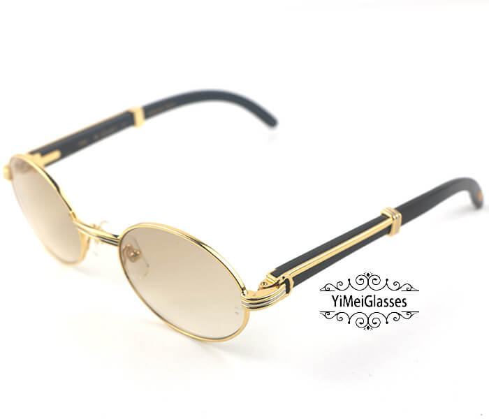 Cartier Buffalo Horn Full Frame Classic Sunglasses CT7550178-53插图(8)