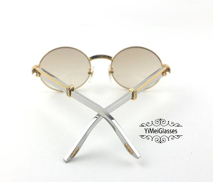 Cartier Stainless Steel Full Frame Classic Sunglasses CT7550178-53插图(9)