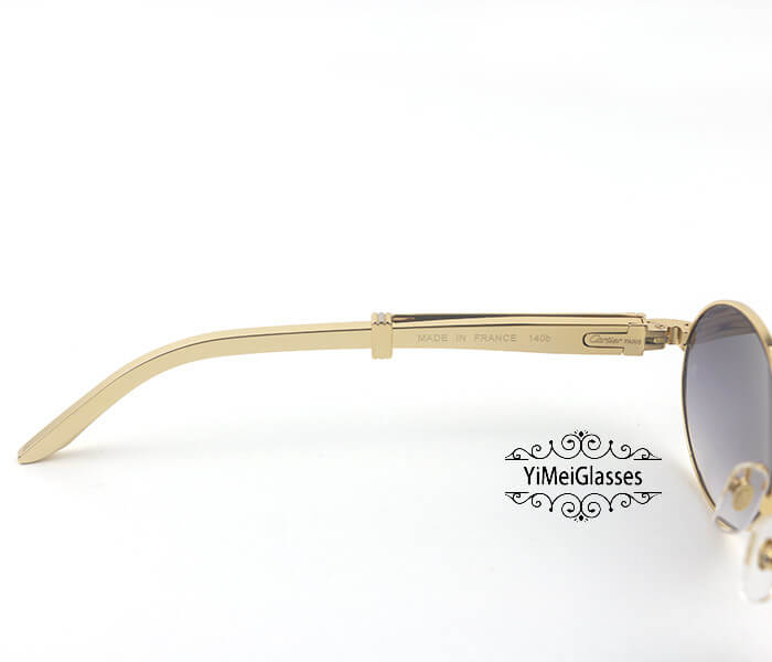 Cartier Stainless Steel Full Frame Classic Sunglasses CT7550178-53插图(3)