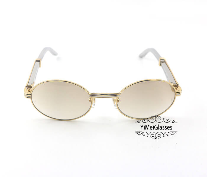 Cartier Stainless Steel Full Frame Classic Sunglasses CT7550178-53插图(6)
