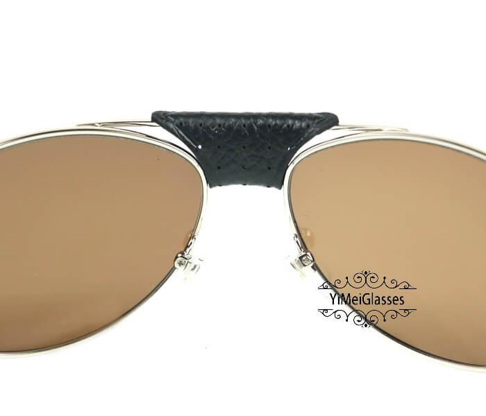 Cartier Classic Leather Buckle Aviators Sunglasses CT123456插图(24)