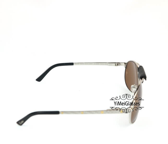 Cartier Classic Leather Buckle Aviators Sunglasses CT123456插图(26)