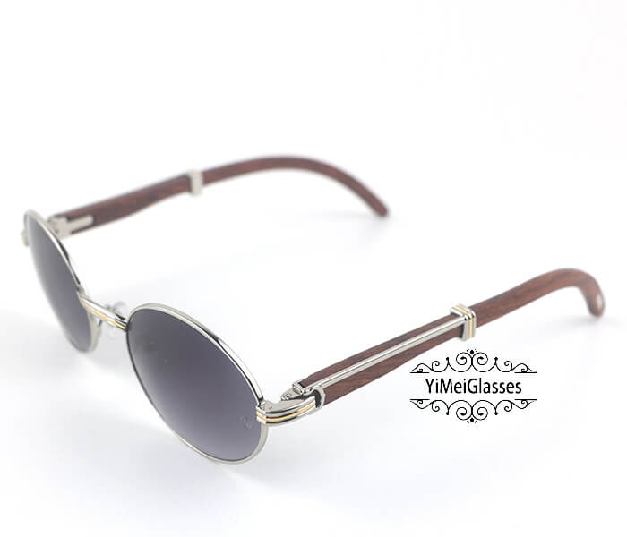 Cartier RoseWood Full Frame Classic Sunglasses CT7550178-55插图(11)