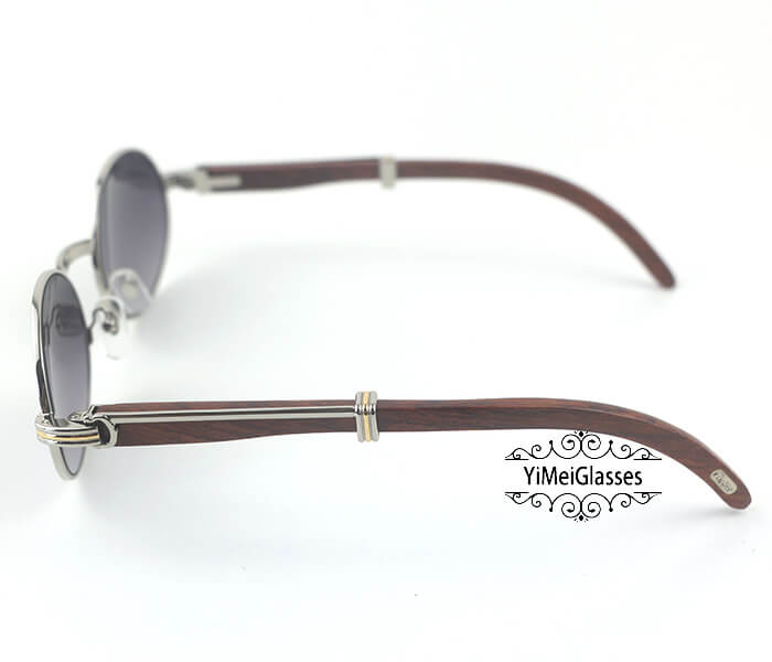 Cartier RoseWood Full Frame Classic Sunglasses CT7550178-55插图(12)