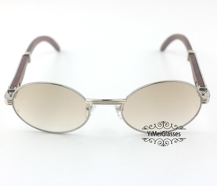 Cartier RoseWood Full Frame Classic Sunglasses CT7550178-55插图(13)