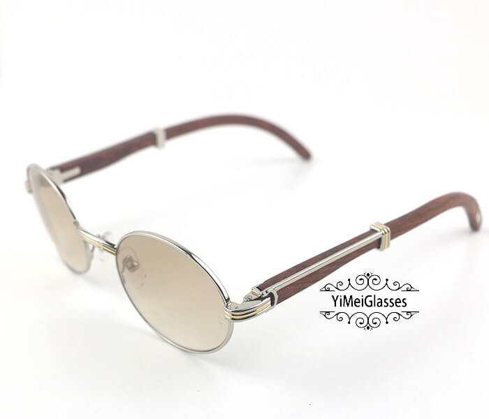 Cartier RoseWood Full Frame Classic Sunglasses CT7550178-55插图(14)