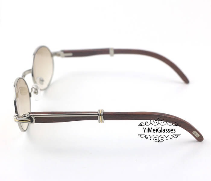 Cartier RoseWood Full Frame Classic Sunglasses CT7550178-55插图(15)