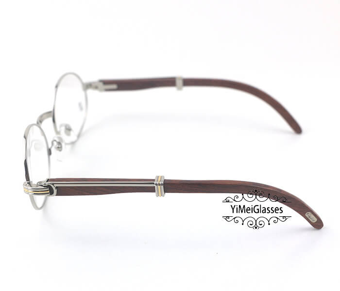 Cartier Wooden Full Frame Wooden Optical Glasses CT7550178-55插图(9)