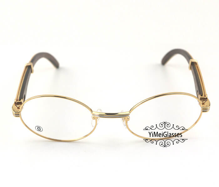 Cartier Wooden Full Frame Wooden Optical Glasses CT7550178-55插图(10)