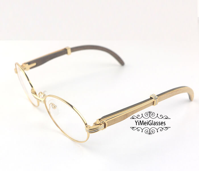 Cartier Wooden Full Frame Wooden Optical Glasses CT7550178-55插图(11)