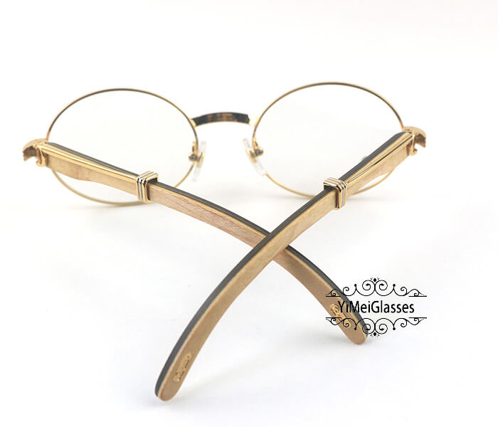 Cartier Wooden Full Frame Wooden Optical Glasses CT7550178-55插图(13)
