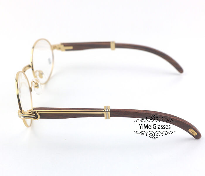 Cartier Wooden Full Frame Wooden Optical Glasses CT7550178-55插图(2)