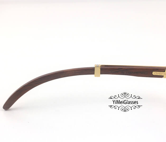 Cartier Wooden Full Frame Wooden Optical Glasses CT7550178-55插图(3)