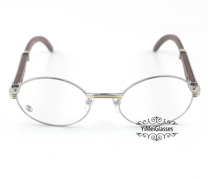 Cartier Wooden Full Frame Wooden Optical Glasses CT7550178-55插图(7)