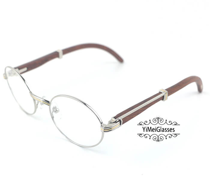 Cartier Wooden Full Frame Wooden Optical Glasses CT7550178-55插图(8)