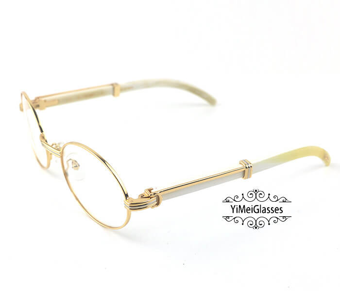 Cartier Buffalo Horn Full Frame Classic Eyeglasses CT7550178-55插图11