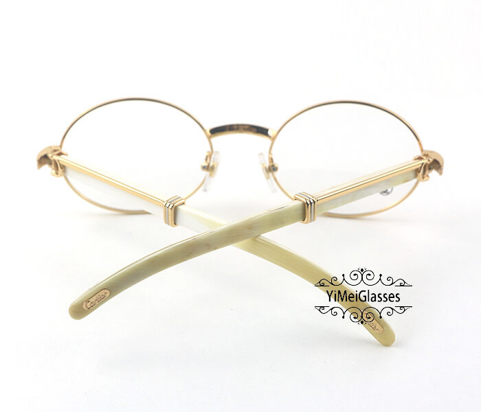 Cartier Buffalo Horn Full Frame Classic Eyeglasses CT7550178-55插图13
