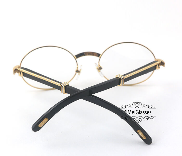 Cartier Buffalo Horn Full Frame Classic Eyeglasses CT7550178-55插图5