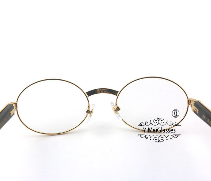Cartier Buffalo Horn Full Frame Classic Eyeglasses CT7550178-55插图6