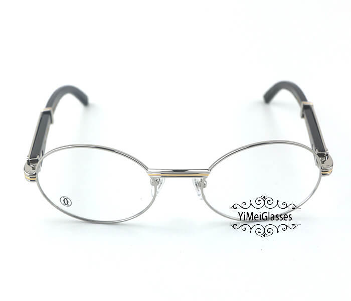 Cartier Buffalo Horn Full Frame Classic Eyeglasses CT7550178-55插图7