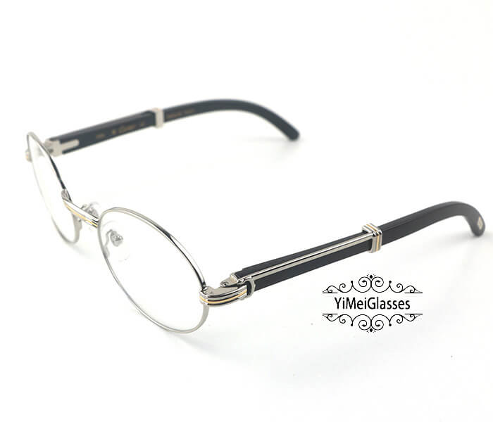 Cartier Buffalo Horn Full Frame Classic Eyeglasses CT7550178-55插图8
