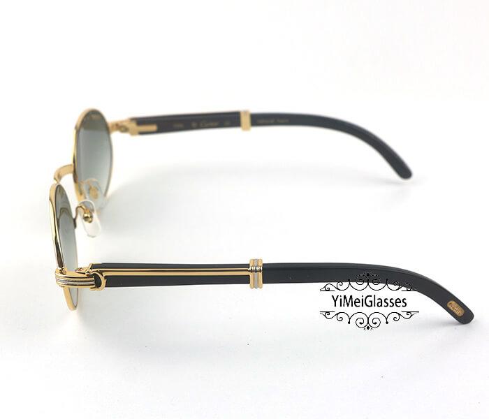 Cartier Buffalo Horn Full Frame Classic Sunglasses CT7550178-55插图(9)