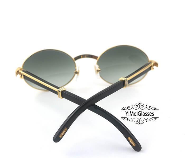 Cartier Buffalo Horn Full Frame Classic Sunglasses CT7550178-55插图(10)