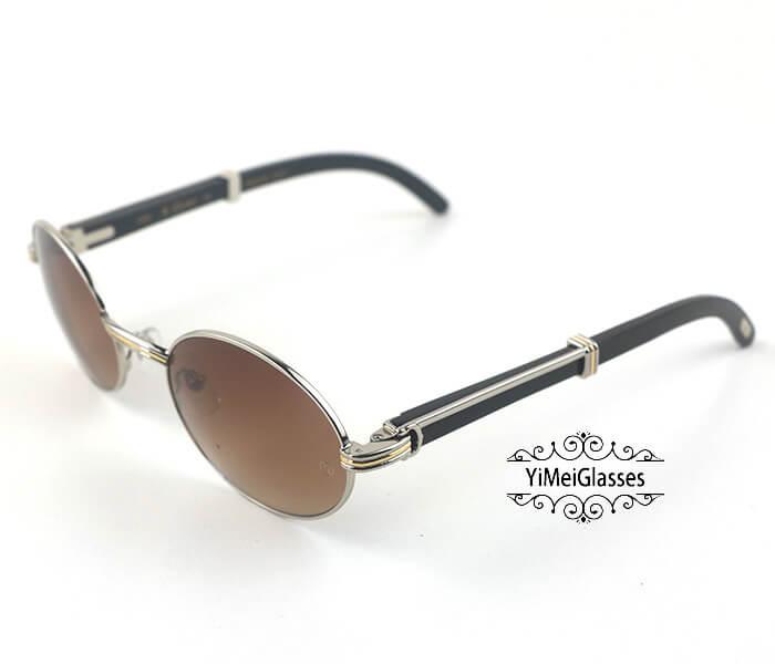 Cartier Buffalo Horn Full Frame Classic Sunglasses CT7550178-55插图(12)