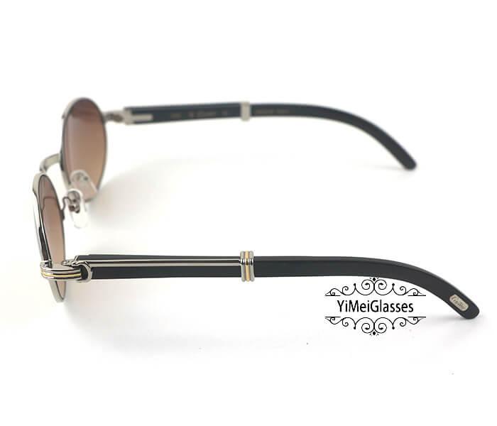 Cartier Buffalo Horn Full Frame Classic Sunglasses CT7550178-55插图(13)