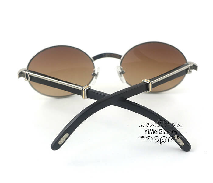 Cartier Buffalo Horn Full Frame Classic Sunglasses CT7550178-55插图(14)